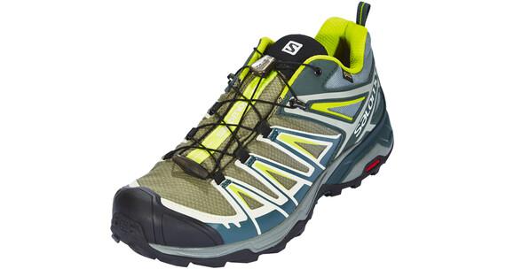 Salomon X Ultra 3 GTX Shoes Men green